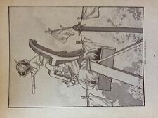 m17a1 ephemera 1920s book plate the sniper's post charles robinson boy playing