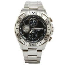 Seiko Criteria SND747 P1 Silver Black Dial Chronograph Men's Quartz Watrch