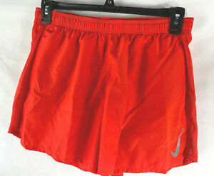 """Nike Challenger 5"""" Lined Running Shorts Red Size Large AJ7685-673 Pockets"""