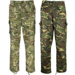 """BRITISH ARMY STYLE S95 RIPSTOP TROUSERS MENS 26-46"""" DPM MTP BTP CAMO WORKWEAR"""