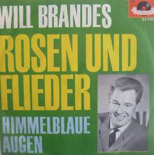 """7"""" 1962 RARE IN VG+++! WILL BRANDES : Rosen und Flieder"""