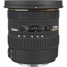 SIGMA 10-20mm F3.5 EX DC HSM LENS FOR SONY A-MOUNT & BONUS 32GB SANDISK SD CARD