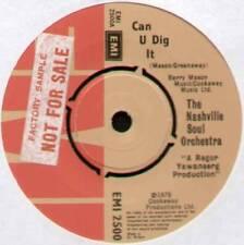 """[Roger abrió] Nashville Orquesta Alma ~ puede u Dig It ~ 1976 Reino Unido 7"""" SINGLE"""
