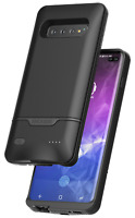 Samsung Galaxy S10 Plus Battery Case with Wireless Charging Power Black