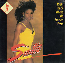 SINITTA Right Back Where We Started From / I Just Can't Help It 45