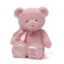 "MY FIRST TEDDY BEAR - Pink - BABY GUND - 10"" - BRAND NEW - #4043949"