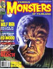 FAMOUS MONSTERS OF FILMLAND #205 (1994) Robert Bloch interview & tribute