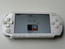 WHITE Sony PSP fat 1003 gaming console, very good condition + warranty