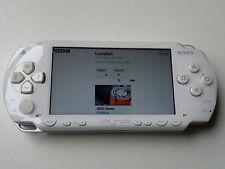 BIANCO Sony Psp Fat 1003 console di gioco, ottime condizioni + Garanzia