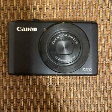 Canon PowerShot S S110BK Digital Camera Black Color (With Box and Accessories)