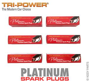 PLATINUM SPARK PLUGS -for Nissan Stagea 25t RS4 4WD 2.5L Turbo C34 (RB25DET) TPP
