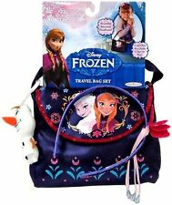Disney Frozen TRAVEL BAG SET w Olaf Keychain & Rosemal Headband & Bag ~NEW~