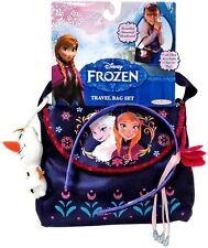 Disney Frozen TRAVEL BAG SET w Olaf Keychain & Rosemal Headband & Bag ~NEW~