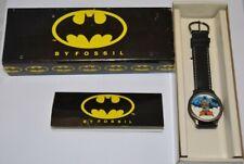 FOSSIL BATMAN Watch BA-6302 Working In original Box