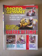 MOTOSPRINT n°5 1993  TEST YAMAHA WR 200 R WR 250 WR 125  [MS9]