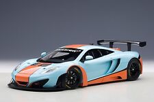 McLaren 12C GT3 Gulf Livery 2013 1:18 Model 81343 AUTOART