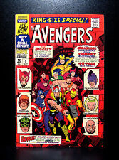 COMICS: Marvel: Avengers Annual #1 (1967), Old & New team together - RARE