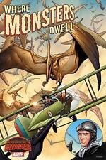 "Frank Cho Where Monsters Dwell Secret Wars Poster 24"" x 36"" Marvel Comics 2015"