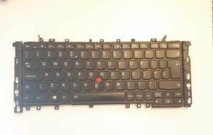 Genuine Lenovo Thinkpad Yoga S1/12/S240  UK Layout Backlit Keyboard FRU:04Y2649