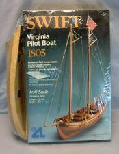 New Listing1:50 Scale: Artesania Latina Swift Virginia Pilot Boat-1805 Partially Built Kit