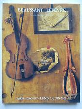 Dessins, estampes,tableaux, mobiliers et objets d'art, catalogue Beaussant...