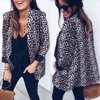 NEW Women OL Ladies Long Sleeve Slim Fit Casual Blazer Suit Jacket Coat Outwear