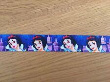 """1m De Blancanieves Disney Princess impreso de cinta de Grogrén, 7/8 """" 22mm"""