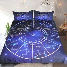 Novelty Gift Zodiac Libra Virgo Circle Adult Kids Bedding Duvet Quilt Cover Set