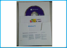 Genuine Sealed Microsoft Windows 10 home 64 Bit DVD with product key with coa