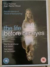 Uma Thurman Evan Rachel Wood LIFE BEFORE HER EYES ~ 2008 Indie Drama | UK DVD