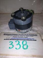 Dayton blower motor 4C870, 1/10hp, 1550rpm, 230Vac, ODP, 1ph, 7008-6481, U8B1