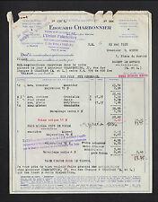 """SALINS-les-BAINS (39) USINE / FAIENCERIE DES CAPUCINS """"Edouard CHARBONNIER"""" 1938"""