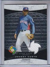 JOHNNY CUETO 2009 BOWMAN STERLING WBC RELICS