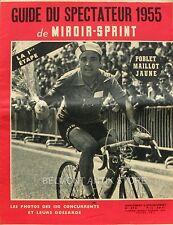 Miroir Sprint n°473 supplément 1955-Guide du spectateur 1955-