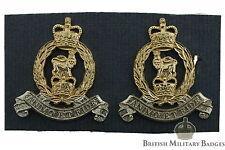 Staybrite: Adjutant General Corps Staybright Collar Badge PAIR - Anodised