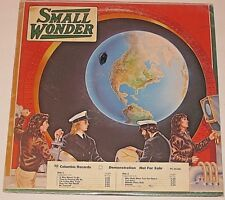 SMALL WONDER CLASSIC ROCK VINTAGE 1976 VINYL LP RECORD PC 34100 VG+ DEMO RARE A-