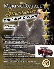 Sheepskin Car Seatcovers Isuzu D-Max , Seat Airbag Safe, Five Colours.30mm TC