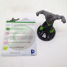 Heroclix War of Light set Hannu #043 Rare figure w/card!
