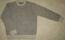 LL Bean Signature Wool Sweater Birdseye Fisherman Norwegian Mens XL Snow Ski EUC