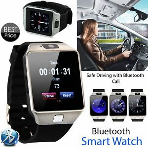 Latest 2021 DZ09 Smart Watch Phone Camera Bluetooth iOS & Android Compatible