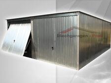 Fertiggaragen Blechgarage Metallgarage Schuppen Lager  Halle nach Maß 5 x 5 m