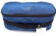 Fossil Travis Toiletry Shave Kit Makeup Cosmetic Travel Pouch Single Zip