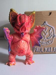 Incredibly Rare PAUL KAIJU MINI MOCK BAT hand made resin figure - SDCC 2011