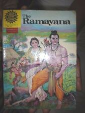 INDIA RARE - HINDU RELIGIOUS - THE RAMAYANA  - IN ENGLISH COMICS  PAGES 95