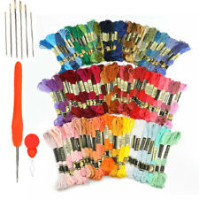 Embroidery Thread - Full 120 Colors Embroidery Floss Skeins Set for Cross Stitch
