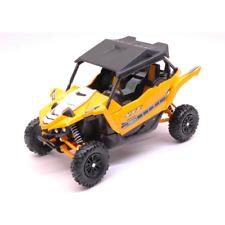 YAMAHA YXZ1000 ATV 2016 YELLOW 1:18 New Ray Moto Die Cast Modellino