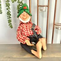 Vtg 1960s Mountain Dew Willy the Hillbilly Doll Collectible Mascot Advertisement