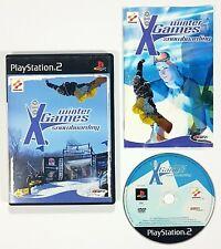 SONY Playstation 2 WINTER X-GAMES SNOWBOARDING dt. PAL OVP Konami/Disney 2000
