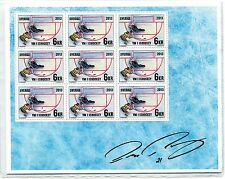 SWEDEN SCARCE 2013 HOCKEY SOUVENIR SHEET VERY LIMITED NUMBER PRINTED