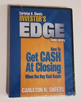 Investor's Edge Carleton Sheets DVD Video Library Get Cash At Closing RealEstate